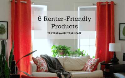 Renter-friendly Products to Personalize Your Space