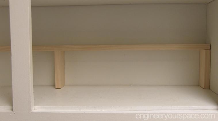 Easy-extra-shelf-inside-cabinet-finished-shelf